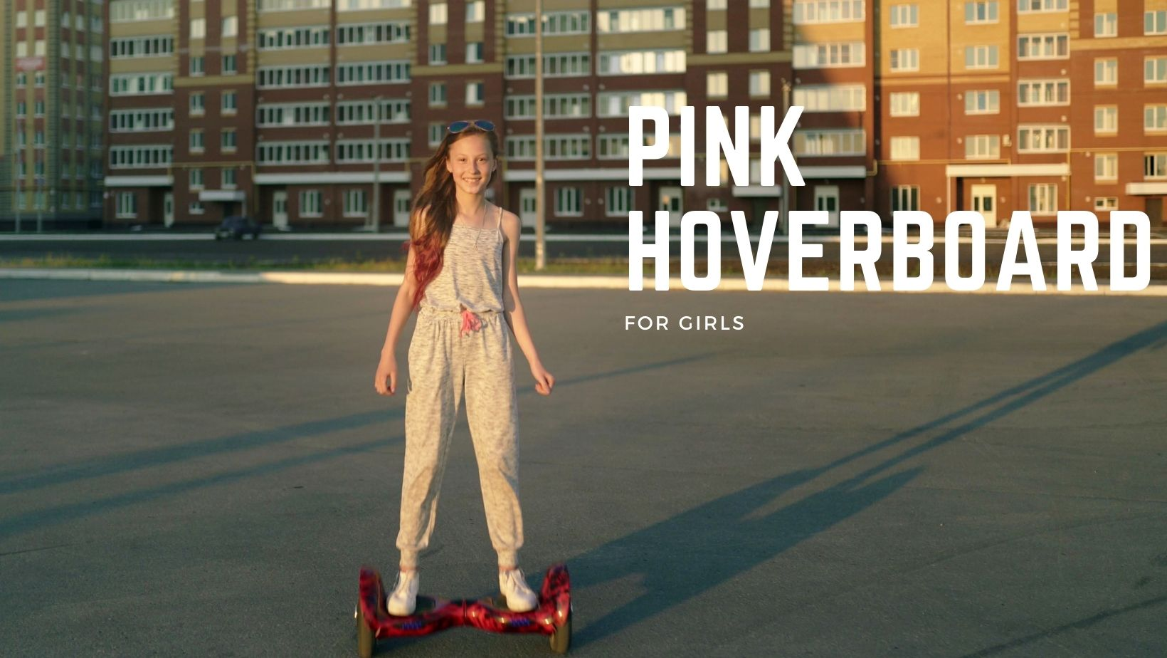 Pink Hoverbaord For Girls